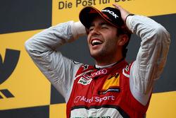 Winner Mike Rockenfeller, Audi Sport Team Phoenix Racing Audi A5 DTM