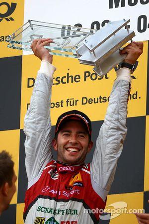 Winnaar Mike Rockenfeller, Audi Sport Team Phoenix Racing Audi A5 DTM