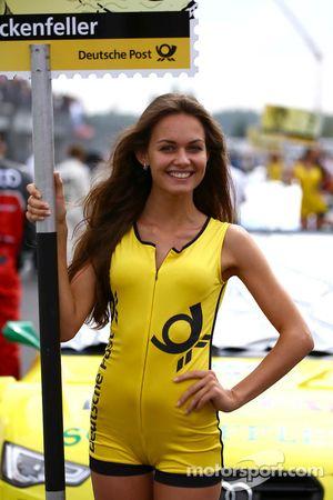 Gridgirl von Mike Rockenfeller, Audi Sport Team Phoenix Racing, Audi A5 DTM