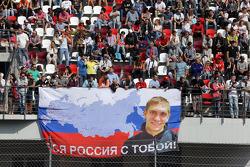 Fãs de Vitaly Petrov
