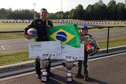 Max Papis,, champion Masters Class, Enzo Fittipaldi, deuxième Mini Max Class