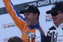 1. Charlie Kimball, Chip Ganassi Racing, mit Chip Ganassi