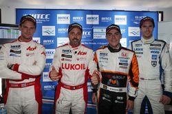 Press conference: Chevrolet Cruze 1.6T, RML pole position, Norbert Michelisz, Honda Civic, Zengo Mot