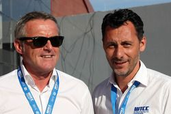 Marcello Lotti, WTCC General Manager and Francois Ribeiro, Eurosport