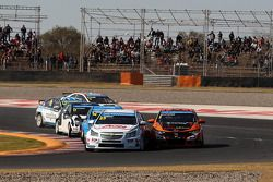Tom Chilton, Chevrolet Cruze 1.6 T, RML e Norbert Michelisz, Honda Civic, Zengo Motorsport