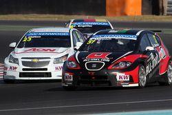 Tom Chilton, Chevrolet Cruze 1.6 T, RML e René Münnich, SEAT Leon WTCC, Münnich Motorsport