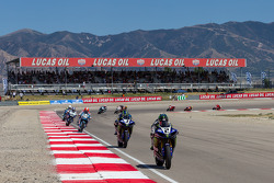#2 Josh Herrin in the lead after lap 1