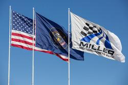 Breezy afternoon at Miller Motorsports Park