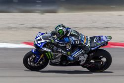 #1 Josh Hayes re-joins race after major crash