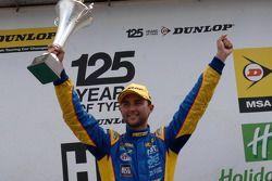 Round 17 Race Winner Andrew Jordan