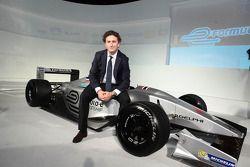 Alejandro Agag, CEO, Formula E Holding, Bangkok Tanıtım