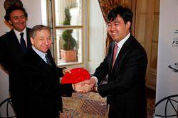 Jean Todt, FIA President, Formula E China Racing presentation