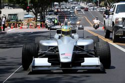 سائق التجارب لوكاس دي غراسي،عرض سباق لوس أنجيليس للفورمولا إى