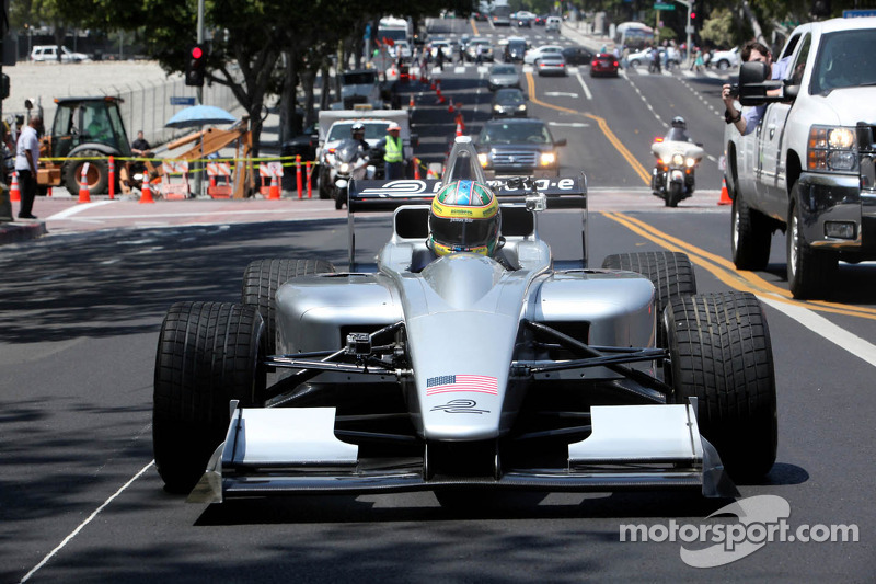 Lucas di Grassi, Presentasi Formula E Los Angeles