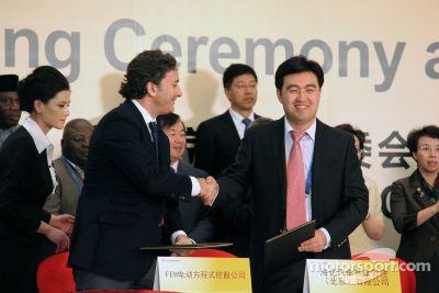 Lanzamiento de la Fórmula E: China