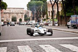Piloto de prueba Lucas di Grassi, Formula E Rome presentación