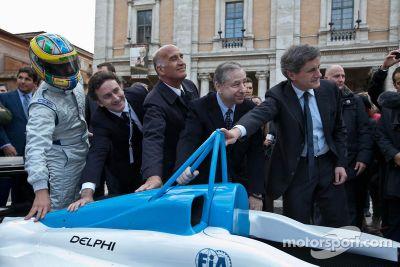 Lanzamiento de Fórmula E: Roma