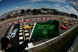 Start: Sam Hornish Jr. op kop