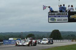 #6 Muscle Milk Pickett Racing HPD ARX-03a Honda: Lucas Luhr, Klaus Graf vence a corrida