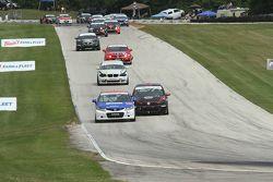 #197 RSR Motorsports Honda Civic SI: Sarah Cattaneo, Owen Trinkler