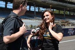 Shelina Moreda, piloto de motos eléctricas