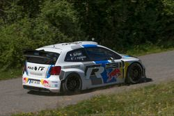 Mattias Ekström in the Volkswagen Polo-R WRC