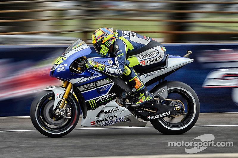 Valentino Rossi, Yamah Factory Racing
