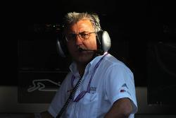 Ernst Moser, chefe da equipe Audi Sport Team Phoenix