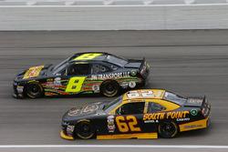 Brendan Gaughan, Richard Childress Racing Chevrolet and B.J. McLeod, BJ McLeod Motorsports Chevrolet