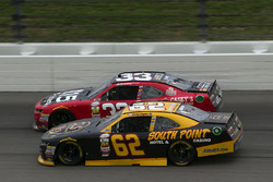 Brendan Gaughan, Richard Childress Racing Chevrolet and Brandon Jones, Richard Childress Racing Chevrolet