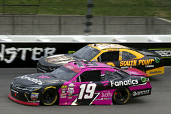 Matt Tifft, Joe Gibbs Racing Toyota and Brendan Gaughan, Richard Childress Racing Chevrolet