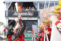 Podium: Chaz Mostert, Steven Owen, Rod Nash Racing Ford