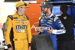 Кайл Буш, Joe Gibbs Racing Toyota и Джимми Джонсон, Hendrick Motorsports Chevrolet