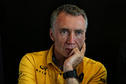 Bob Bell, Renault Sport F1 Team Chief Technical Officer, at a media roundtable.