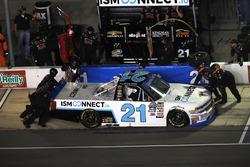Johnny Sauter, GMS Racing Chevrolet, pit stop