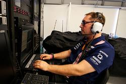 Paul Bendrey, Trackside IT Analyst Sahara Force India