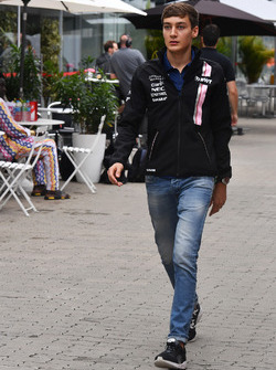 George Russell, Sahara Force India