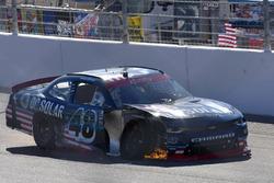 Brennan Poole, Chip Ganassi Racing Chevrolet wrecks