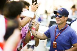 I fan incontrano Rubens Barrichello