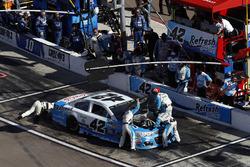 Motorschaden: Kyle Larson, Chip Ganassi Racing Chevrolet