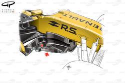 Renault R.S.17 bargeboard con títulos