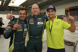Pole position LMGTE Am : Paul Dalla Lana, Pedro Lamy, Mathias Lauda, Aston Martin Racing