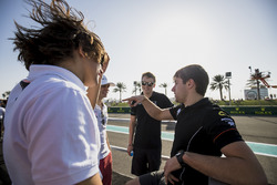 Роберто Мери и Луи Делетраз, Rapax, Густав Малья, Racing Engineering, и Джордан Кинг, MP Motorsport