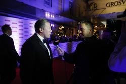 Zak Brown, Director Ejecutivo, McLaren Technology Group con Sky