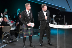 Christian Horner on stage with Presenter David Coulthard