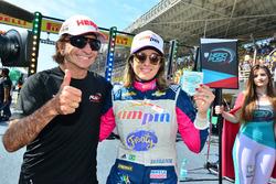 Emerson Fittipaldi e Bia Figueiredo