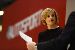 Susie Wolff on the Autosport Stage