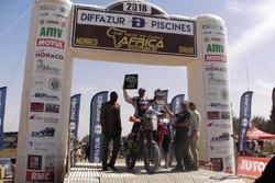 Победитель ралли-рейда «Африка Эко Рейс» в мотоциклетном зачете Паоло Чечи