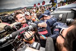 Carlos Sainz, Cyril Despres, Peugeot Sport