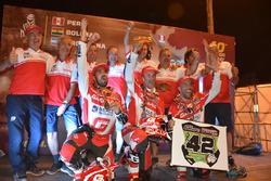 Team GasGas alla premiazione